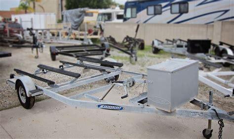 zieman boat trailer specifications 2009 used glavanized zieman double jet ski trailer for sale