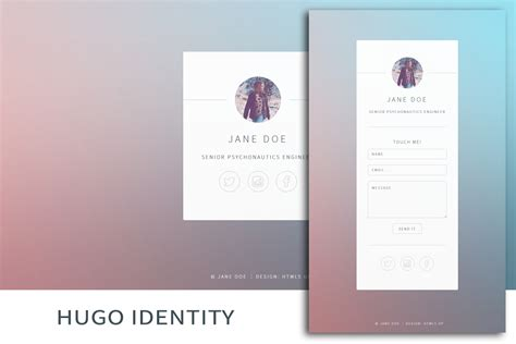 themes of hugo hugo identity theme hugo themes