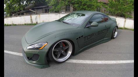 matte green maserati maserati gran turismo coupe 2 matte green