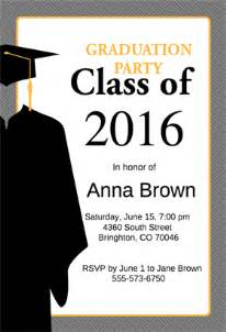 graduation invitations templates top 11 free graduation invitation templates to inspire you