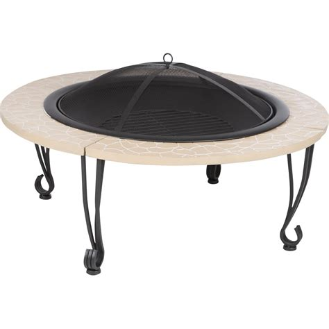 30 Inch Wood Burning Pit Table By