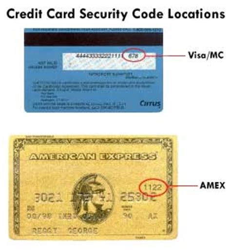 Sle Credit Card Security Code Credit Card Code Information