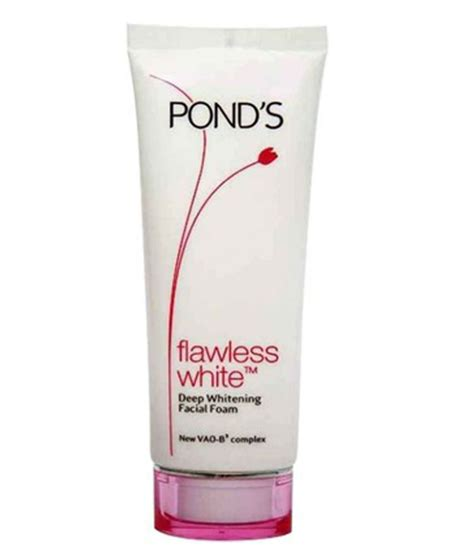 Ponds White pond s flawless white whitening wash 100gm buy pond s flawless white whitening