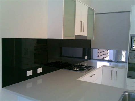black glass backsplash kitchen glass paint backsplash gallery view glass paint results