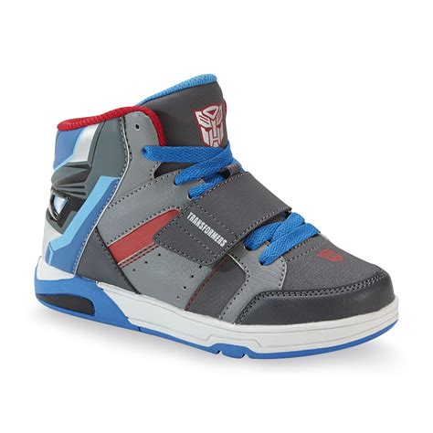 transformers sneakers transformers transformers boy s light up high top optimus