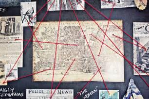 30th birthday sherlock crime scene decor map of london british