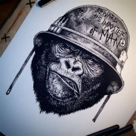 tattoo nightmares gorilla 25 best ideas about jester tattoo on pinterest evil