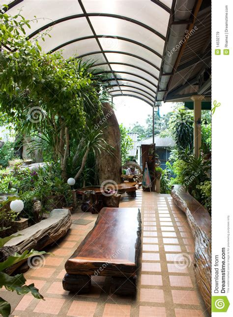 House Design With Interior Garden Interior Garden Royalty Free Stock Images Image 14532779