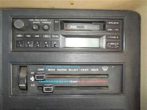 Amc Live Radio Player Amc Jeep Radio Cassette Player Wanted Comanche Club Forums