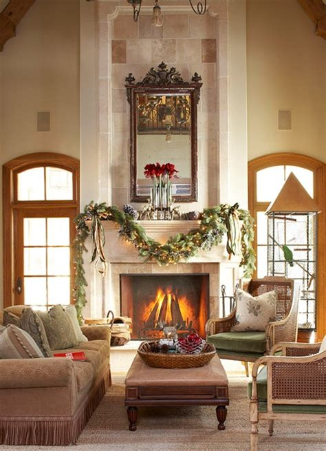 traditional home christmas decorating whitehaven christmas mantels