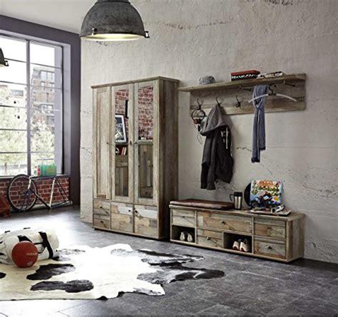 garderobe treibholz garderobe set garderobenschrank flurgarderobe