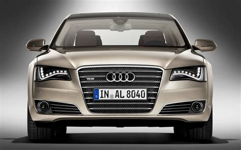 audi price audi prices range topping 2012 a8l w12 sedan at 134 375