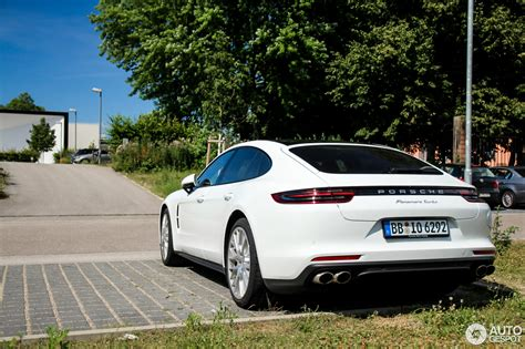 porsche white 2017 porsche panamera turbo 2017 10 july 2016 autogespot