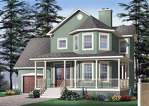 House Plans With Bay Windows by Classic Porch And Bay Windows 21570dr Architectural