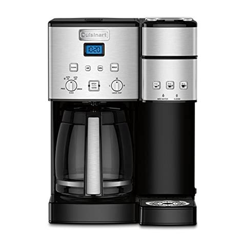 Cuisinart SS15 C Coffee Center 12 Cup Coffee Maker & Single Serve Brewer   Espresso Planet Canada