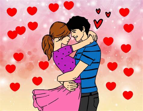 imagenes animadas de amor verdadero dibujo de amor verdadero pintado por juandytini en dibujos