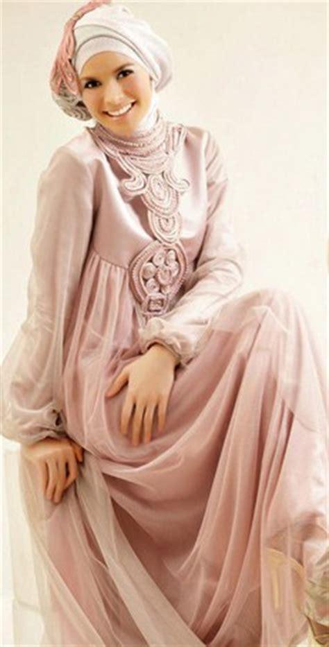 Baju Gamis Ke Pesta Pernikahan 10 gambar contoh dan model baju muslim pesta terbaru
