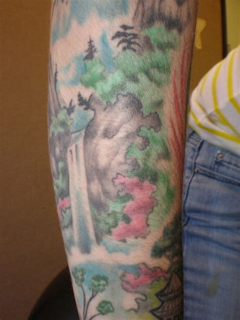 oriental waterfall tattoo waterfall other side tattoo picture at checkoutmyink com