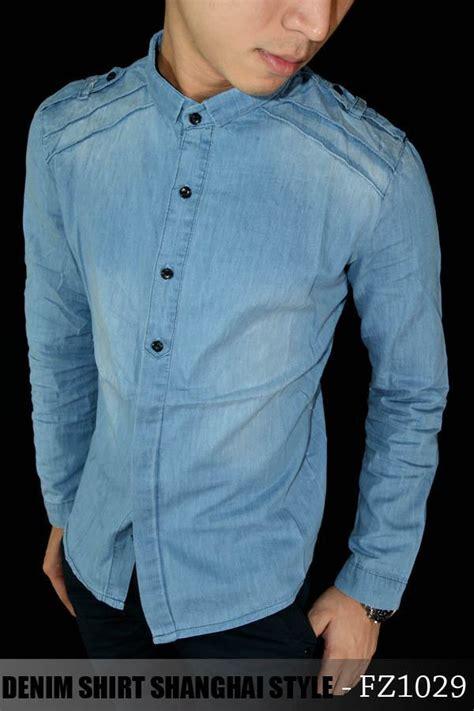 Kemeja Denim 03 jual kemeja murah supplier celana