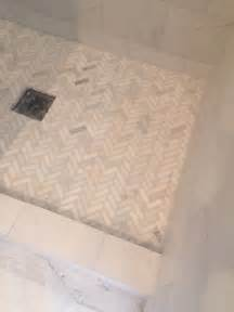 ideas about shower floor pinterest master pebble bathroom inspiration pretty white archaic tile combine