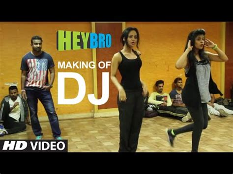 download mp3 dj from hey bro download making of dj video song hey bro sunidhi