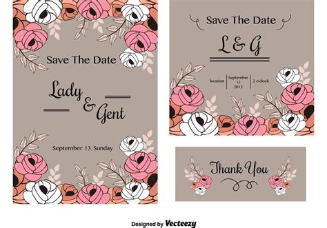 Wedding Invitations And Cards by Wedding Invitation Cards Free Vector Stock