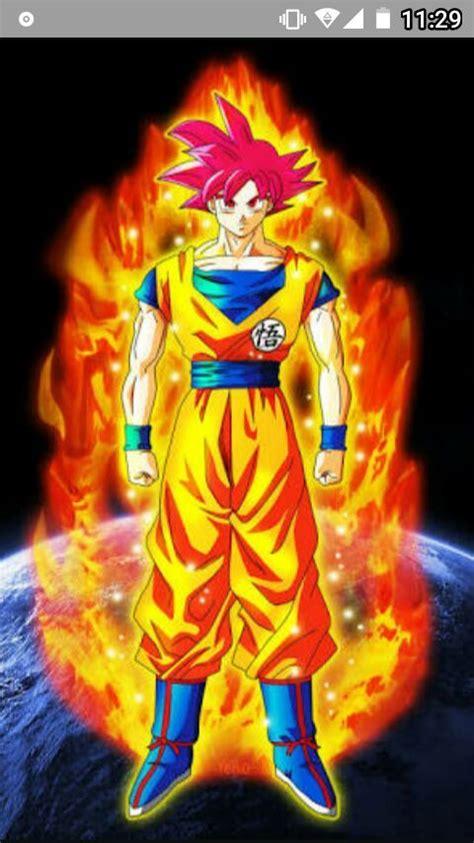 imagenes de goku rojo todo sobre el ssj dios rojo dragon ball espa 209 ol amino
