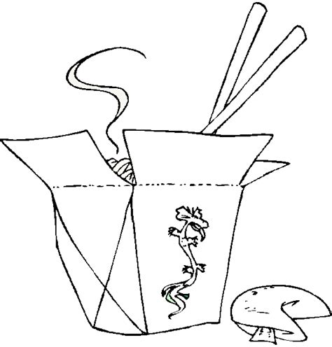 free ethnic foods coloring pages
