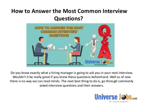 how to answer 10 most common interview questions autos post how to answer the most common interview questions