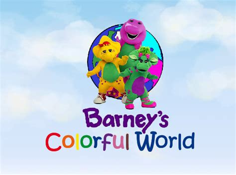 barney colorful world barney s colorful world book 341967 bookemon