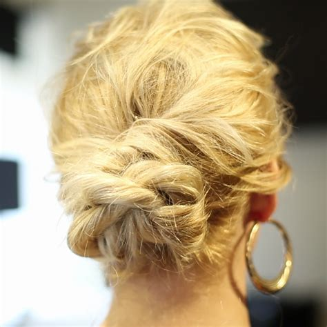 on the go hairstyles on the go updo the rope braid hairstyle more com