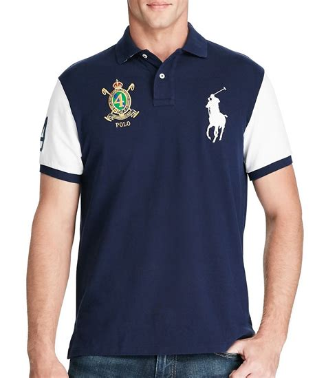 Polo Ralph Laurent polo ralph classic fit big pony sleeve polo