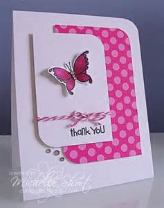 Ideas For Handmade Thank You Cards - 224 best images about thank you cards on