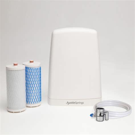 countertop water filter springs