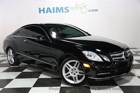 Used Mercedes E350 Coupe by 2013 Used Mercedes E Class 2dr Coupe E350 Rwd At