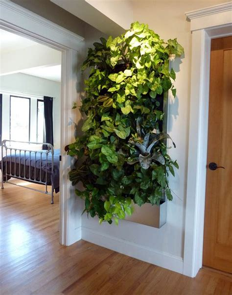 living wall  small space gardens vertical garden diy