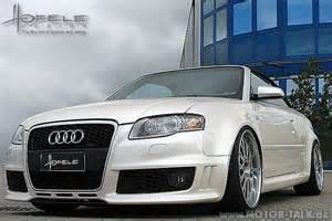 Audi a4 b7 cabrio rs4 look1 a4 cabrio gt rs4 umbau hofele design