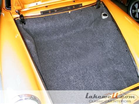 trunk carpet set porsche 911 69 73 65 73 911