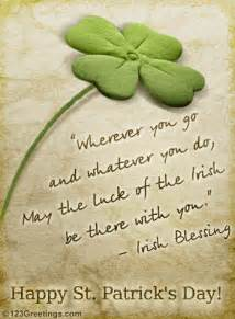 may the luck of the free blessings ecards greeting cards 123 greetings