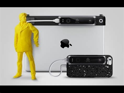3d systems now offers isense 3d scanner for iphone 6