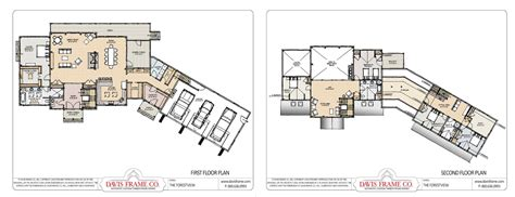 popular floor plans our most popular timber frame vacation home floor plans