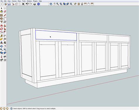 google sketchup cabinet tutorial mf cabinets google sketchup drawing cabinets mf cabinets