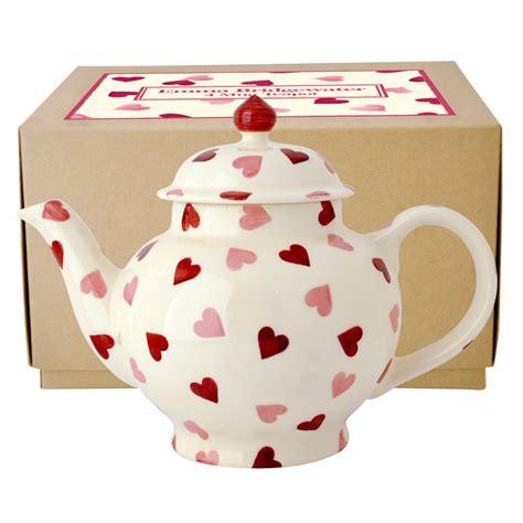pink wallpaper emma bridgewater teapot emma bridgewater pink hearts 4 mug teapot boxed