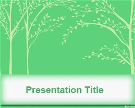 template powerpoint leaf green leaves powerpoint template
