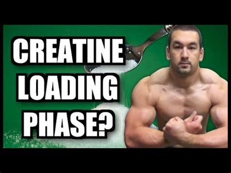 creatine loading phase creatine loading phase is it necessary