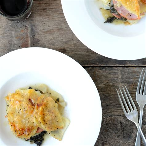 Canadian Potato by Canadian Bacon Potato And Swiss Chard Gratin Recipe