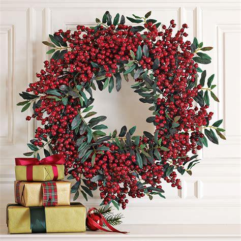 festive red berry wreath gump s