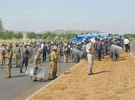 india yesterday india unrest continues in rajasthan following yesterday s