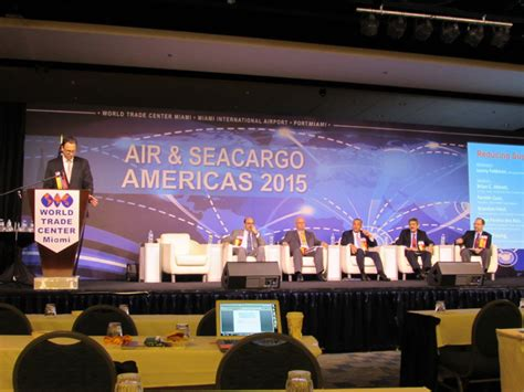 Mba Issues Conference Miami by Air Sea Cargo Americas Industry Flies To Miami To Talk