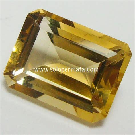 Batu Permata Citrine batu permata yellow citrine 02b12 toko batu